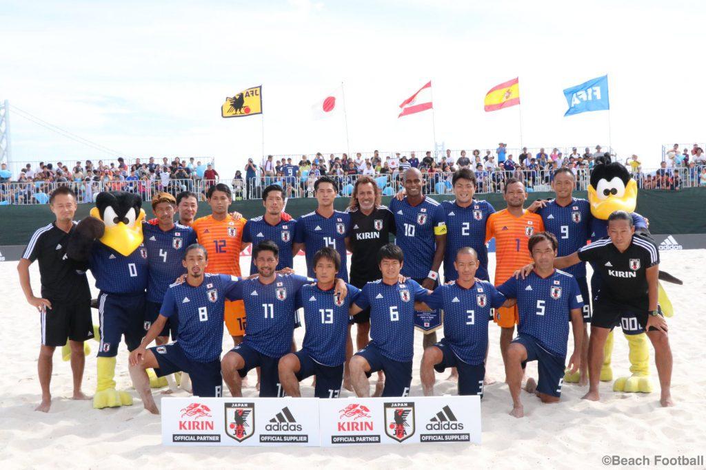 ビーチ サッカー 日本 代表